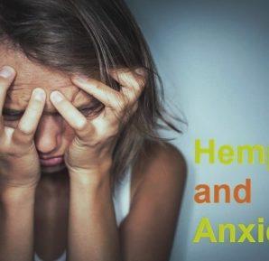 Hemp oil and anxiety